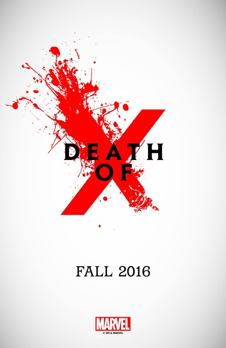 Marvel Death of X