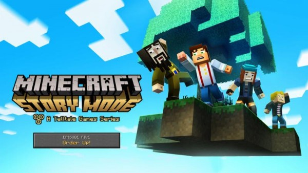 Minecraft Story Mode Order Up