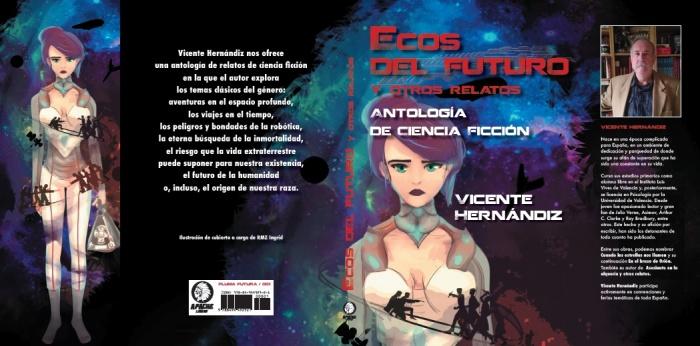 Portada de Ecos del Futuro y otros relatos.