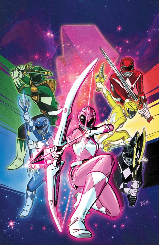 Power Rangers Variant Cover Heroes Fantasy