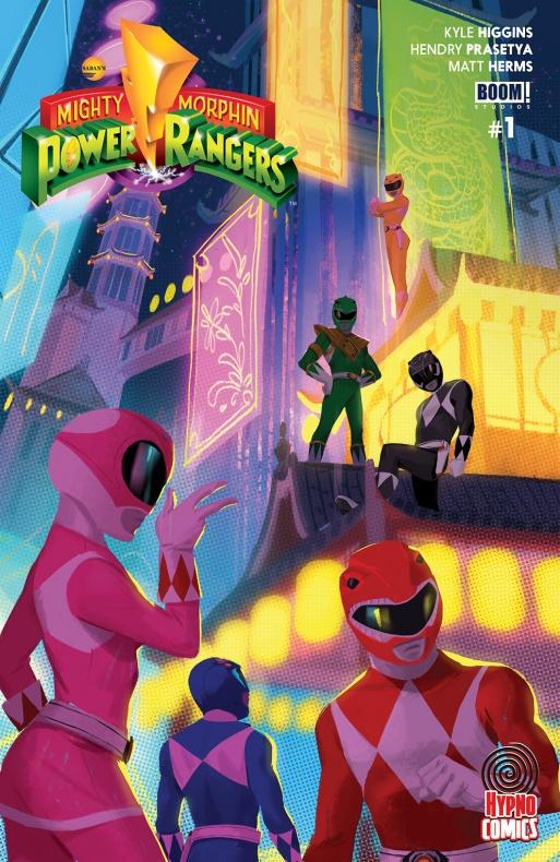 Power Rangers Variant Cover Hypno Comics