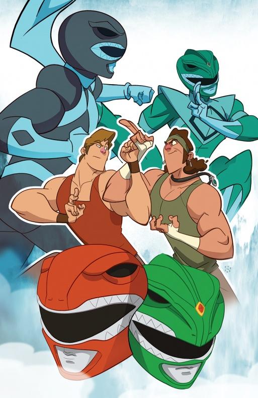 Power Rangers Variant Cover TFAW