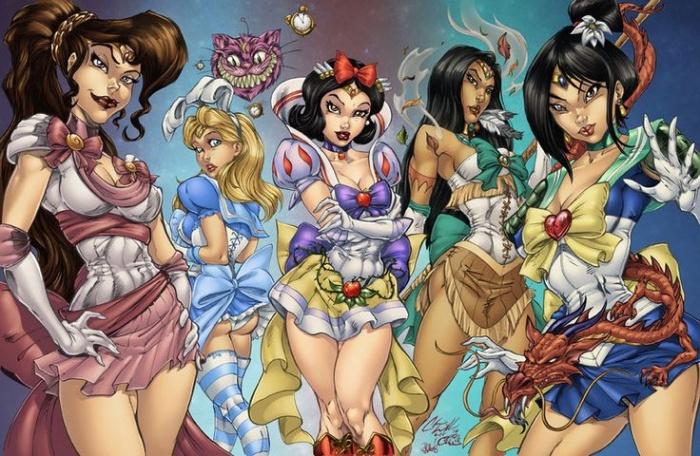 Princesas Disney new wave11