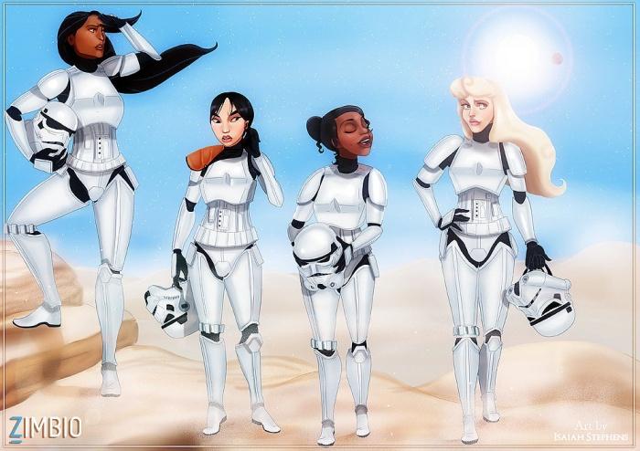 Princesas Disney new wave17