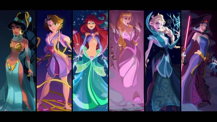 Princesas Disney new wave20