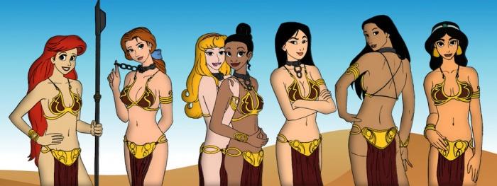 Princesas Disney new wave24