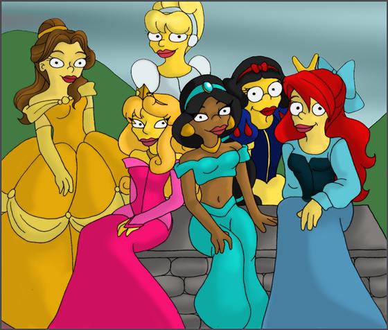 Princesas Disney new wave29
