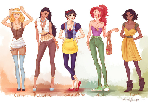 Princesas Disney new wave3