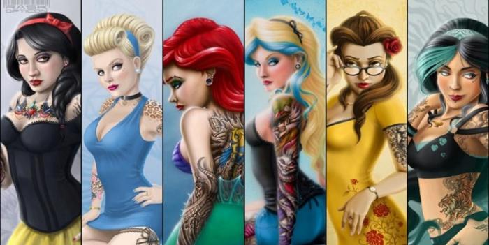 Princesas Disney new wave4