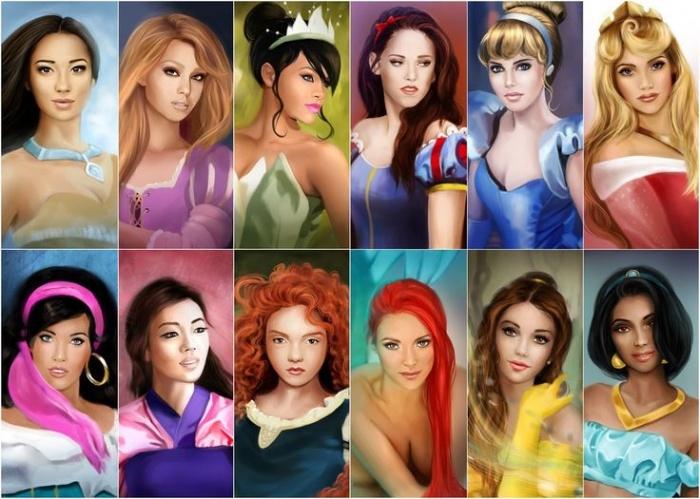Princesas Disney new wave8