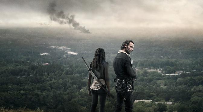 Rick Michonne The Walking Dead 6b promo