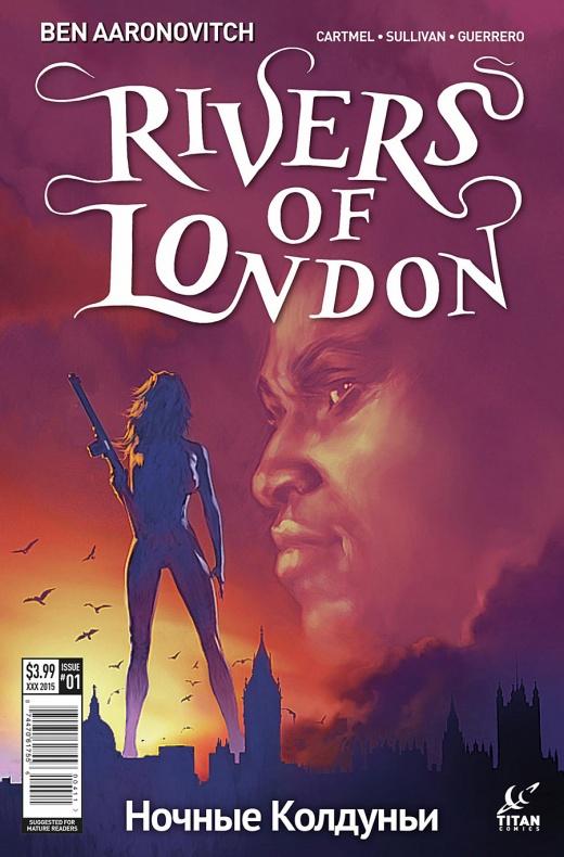Rivers of London The night witch Portada alternativa de Alex Ronald