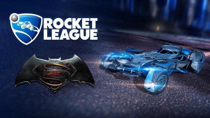 Rocket League BatmanVSuperman