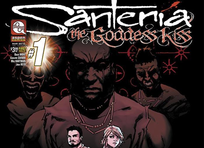 Santeria The Goddess Kiss Destacada