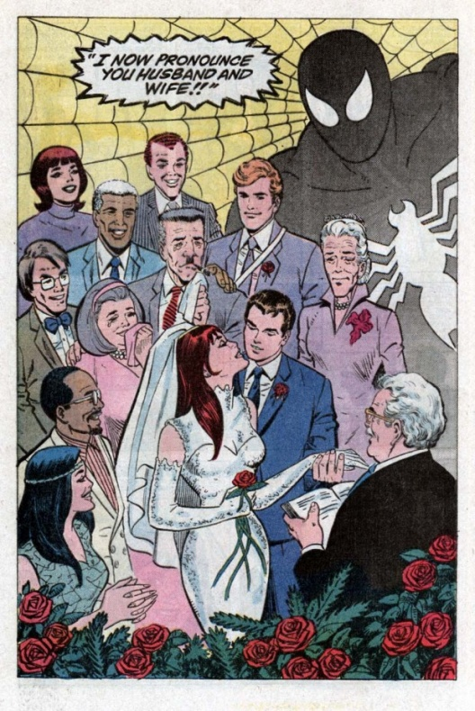 Spider-Man wedding