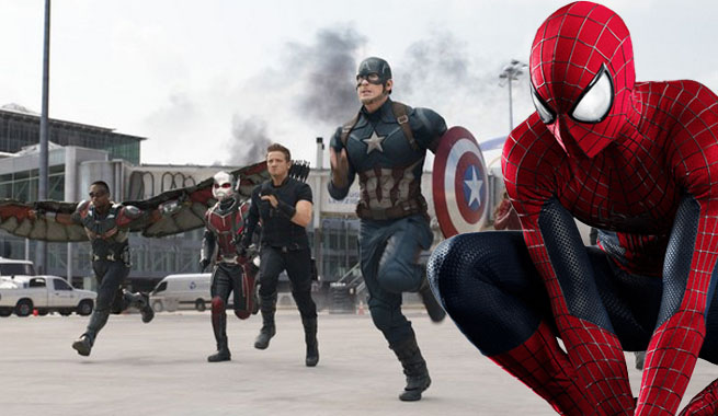 Spiderman civil war