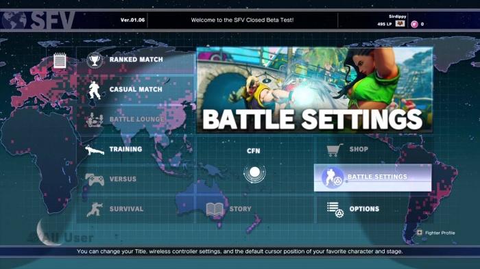 Análisis Street Fighter V