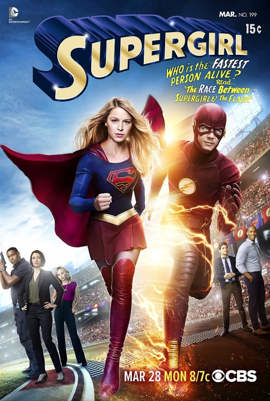 Supergirl Flash Crossover