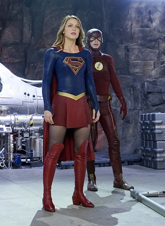 Supergirl The Flash 10