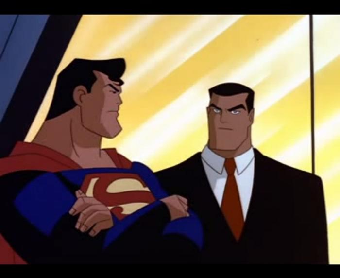 Superman y Bruce