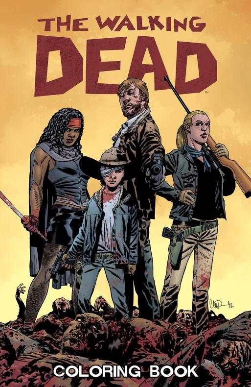 The Walking Dead ColoringBook portada