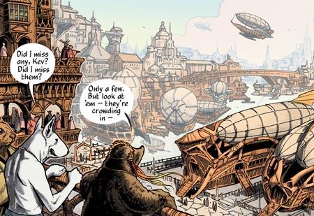 Imaginación en viñetas