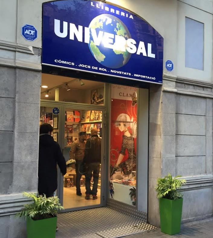 Universal comics-tienda