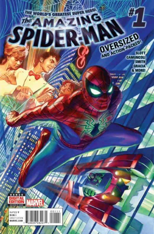 amazing spider man vol 4 1