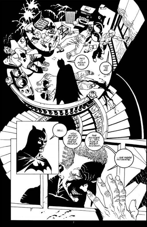 batman bw3
