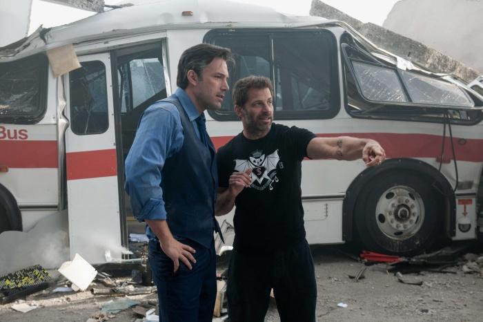 Batman v Superman - Ben Affleck y Zack Snyder en el rodaje