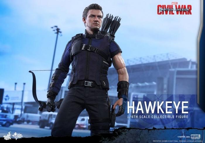 Hot Toys Hawkeye 15