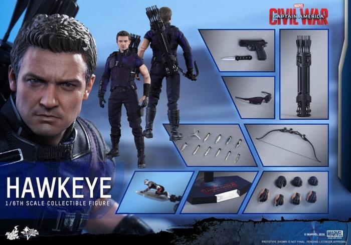 Hot Toys Hawkeye 22