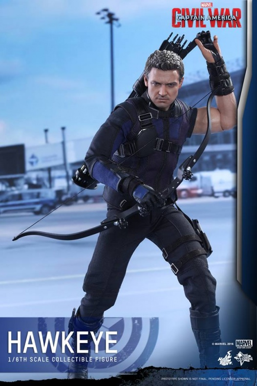 Hot Toys Hawkeye 9