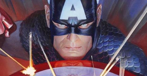 capitán américa Alex ross