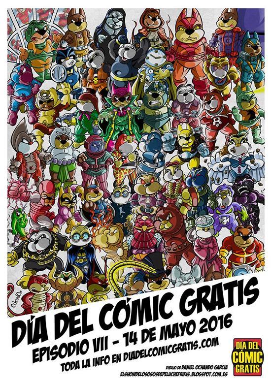 cartel Día delCómic Gratis