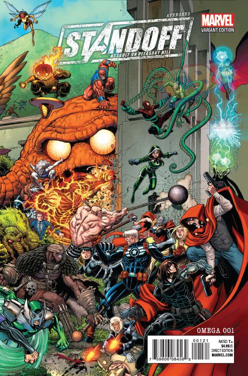 Avengers Standoff Omega Portada alternativa de Art Adams
