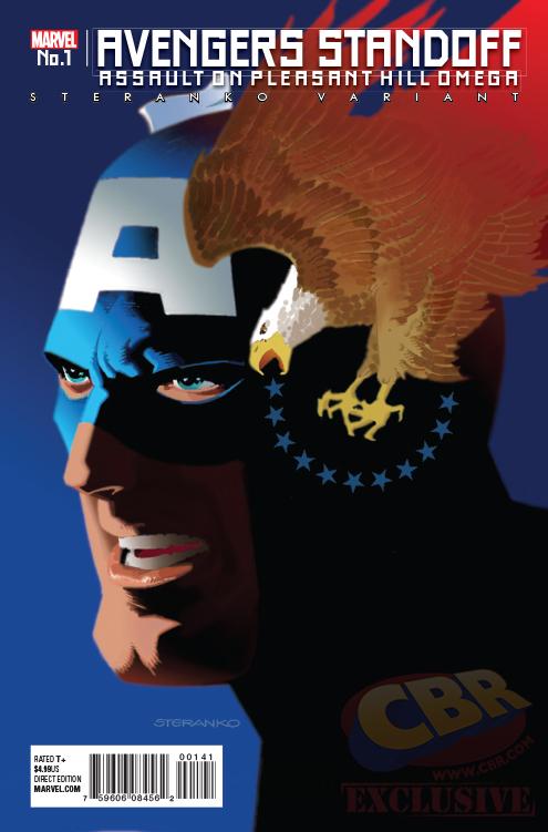 Avengers Standoff Omega Portada alternativa de Jim Steranko