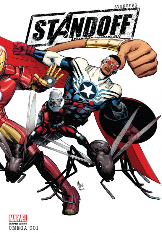 Avengers Standoff Omega Portada alternativa de Mike Deodato (2)