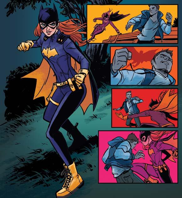 Batgirl en acción