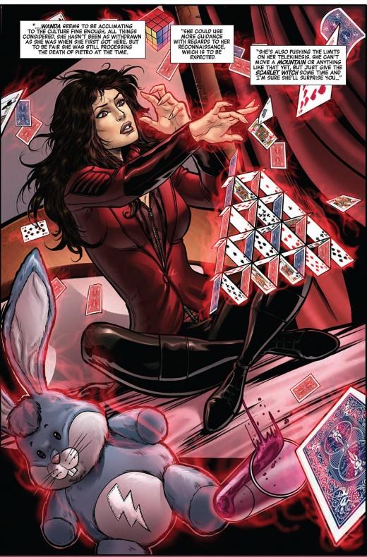 Captain America Road to War Página interior (3)