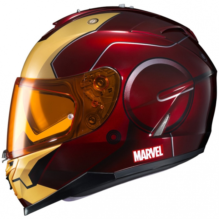 Cascos de Moto Marvel 10