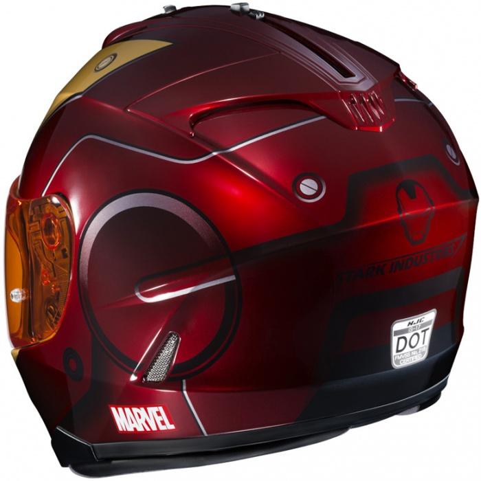 Cascos de Moto Marvel 11