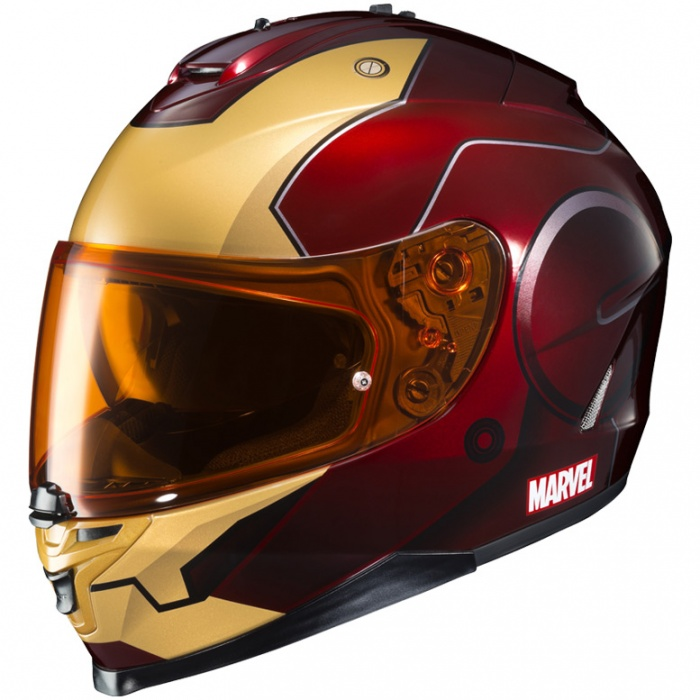 Cascos de Moto Marvel 12