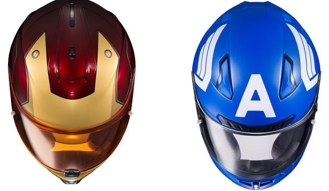 Cascos de Moto Marvel