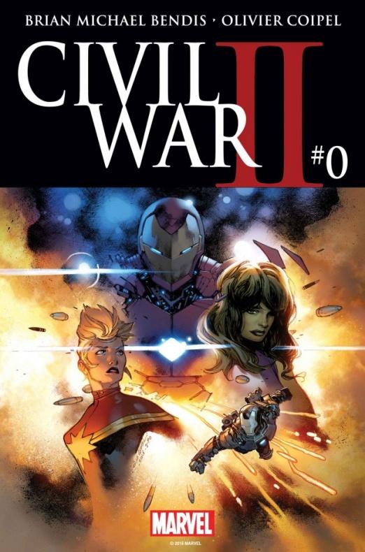 Civil War II 0 Cover