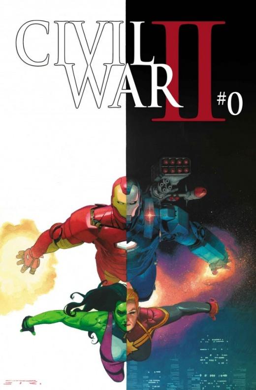 Civil War II 0 Ribic Variant