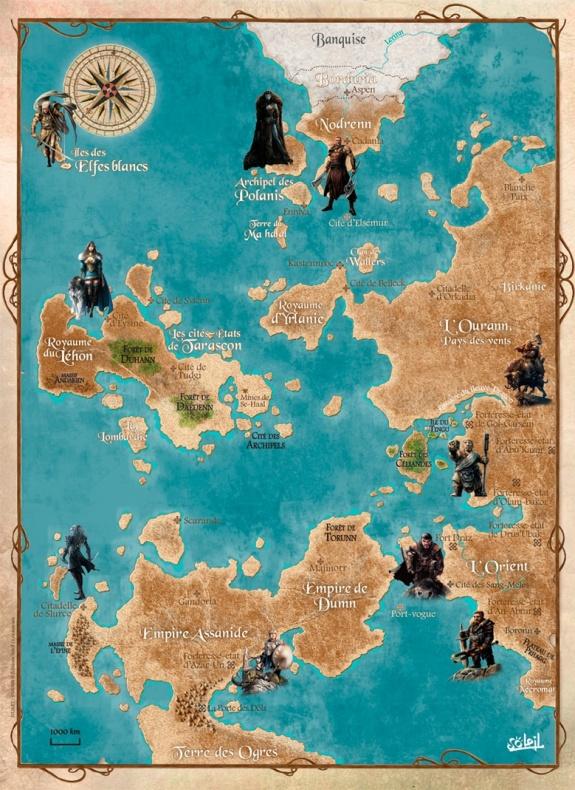 Elfos mapa