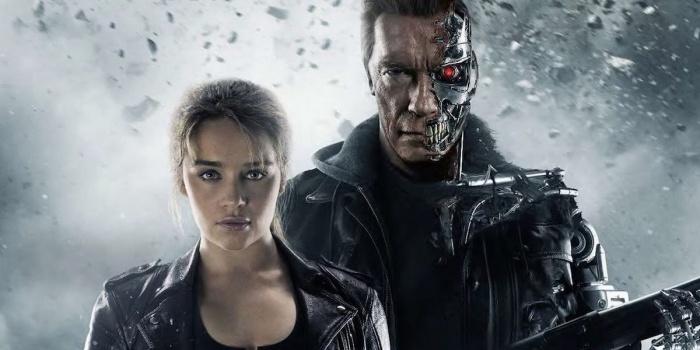 Emilia Clarke Arnold Schwarzenegger Terminator Genisys
