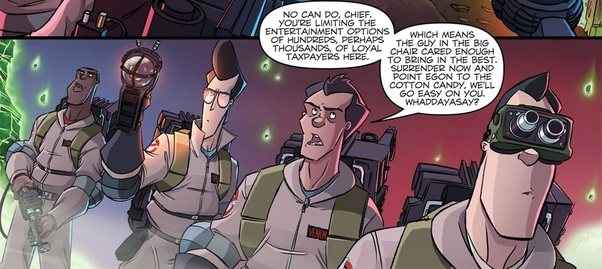 Ghostbusters IDW