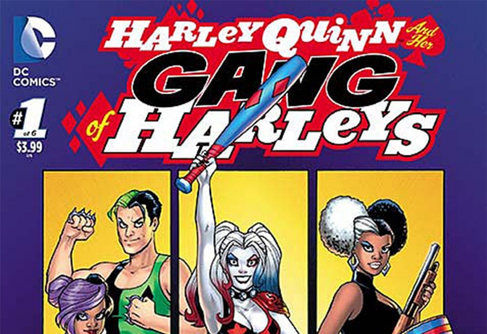 Harley Quinn and Her Gang of Harleys Destacada